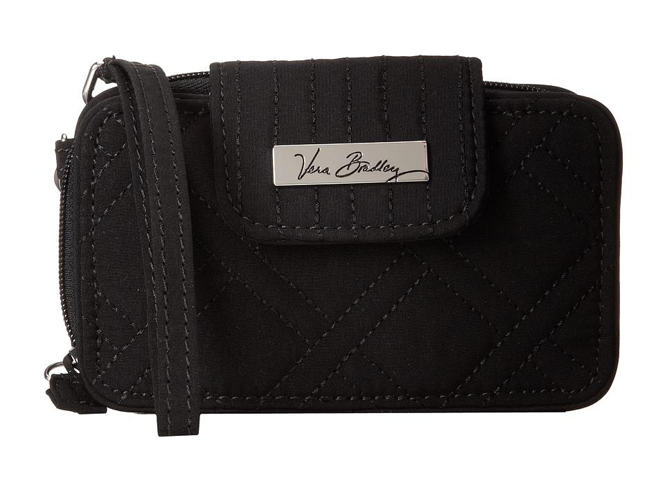 Vera Bradley - Smartphone Wristlet 2.0 (Classic Black) Wristlet Handbags