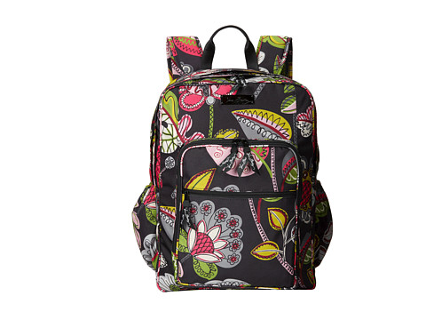 Vera Bradley - Lighten Up Large Backpack (Moon Blooms) Backpack Bags