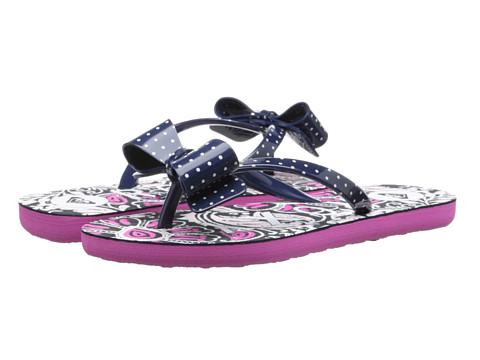 Roxy Kids - Lulu (Little Kid/Big Kid) (Navy) Girls Shoes