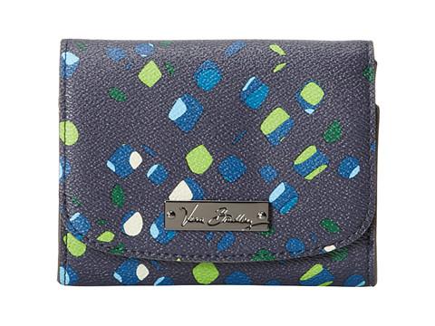 Vera Bradley - Petite Wallet (Ink Spots) Wallet Handbags