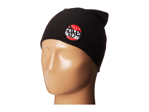 Celtek - Patched Up Beanie (Black) Beanies