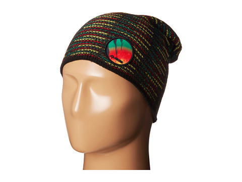 Celtek - Patched Up Beanie (Rasta) Beanies