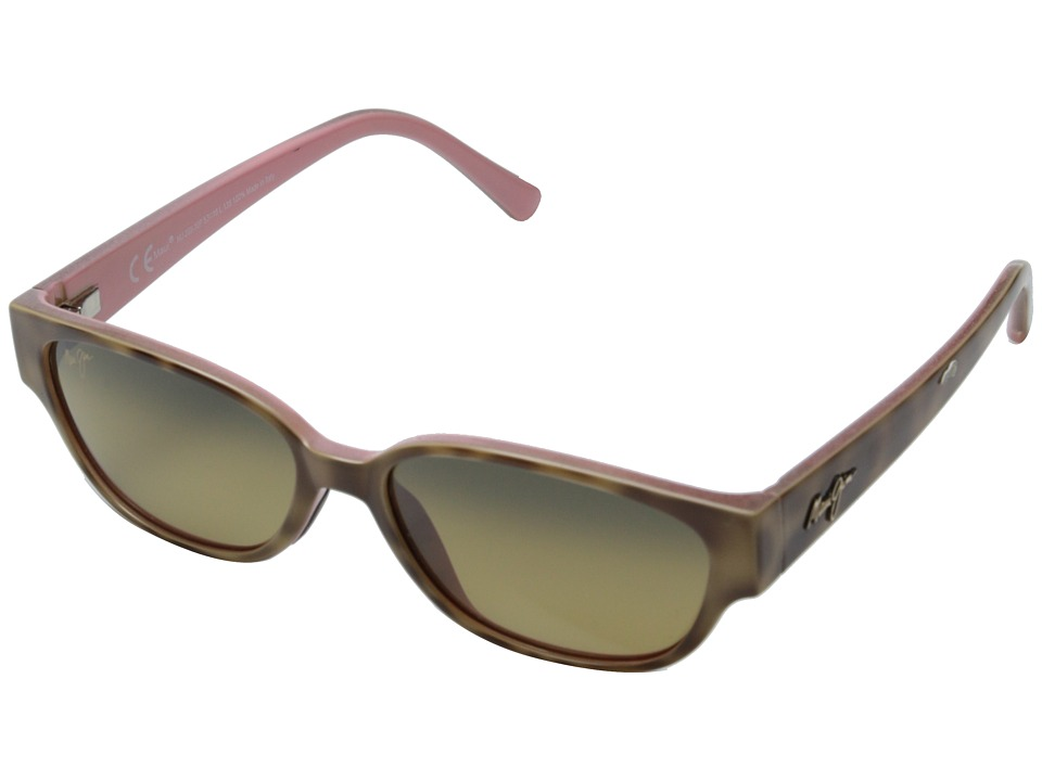 Maui Jim - Anini Beach (Tortoise and Blush/HCL Bronze) Sport Sunglasses