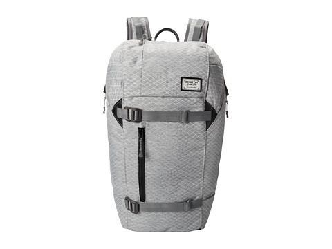 Burton - Lumen Pack (Grey Heather Diamond Ripstop) Backpack Bags
