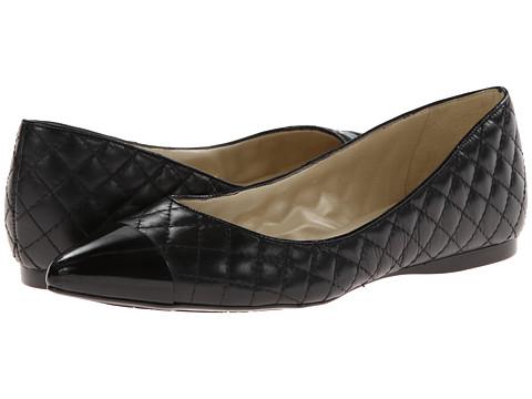 French Sole - Marla (Black Patent w/ Black Calf) Women