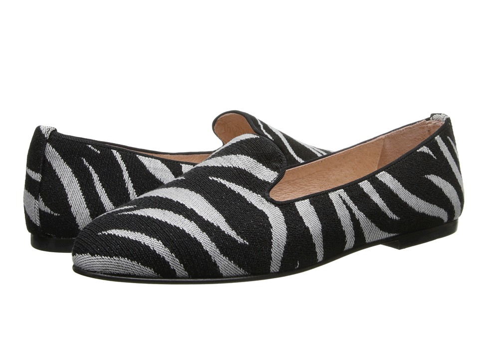 French Sole - Motif (Zebra Tapestry) Women's Shoes
