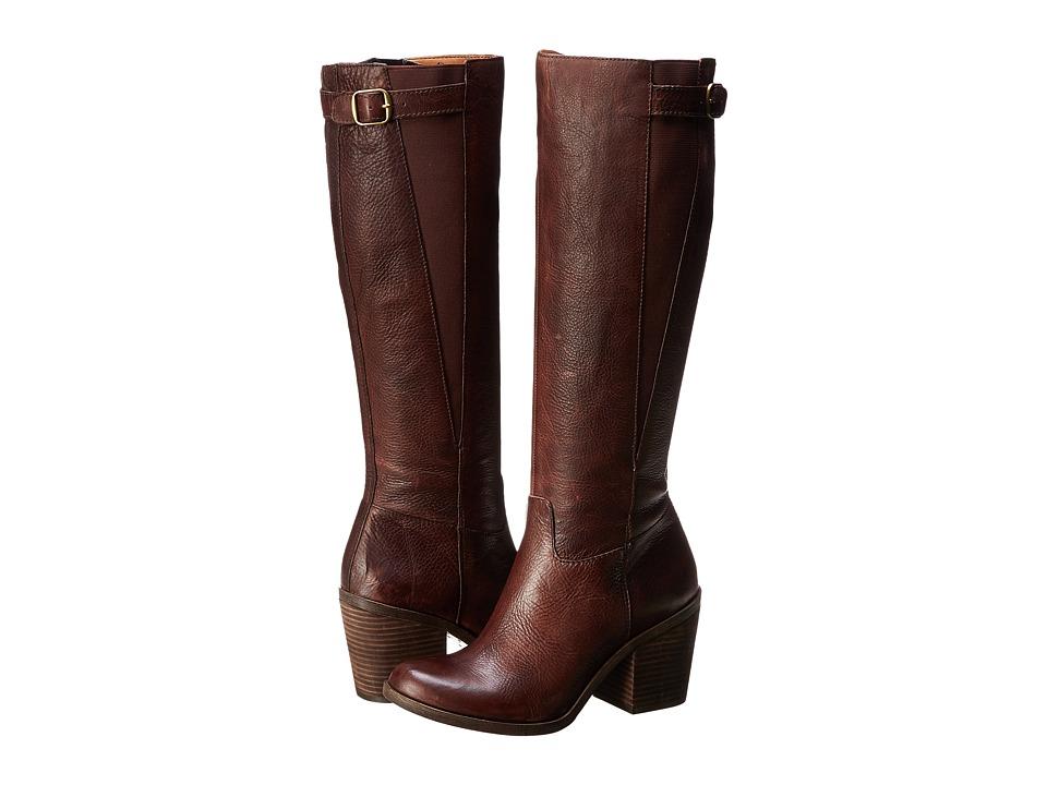 Lucky Brand - Orman (Bourbon Kalahari) Women's Zip Boots
