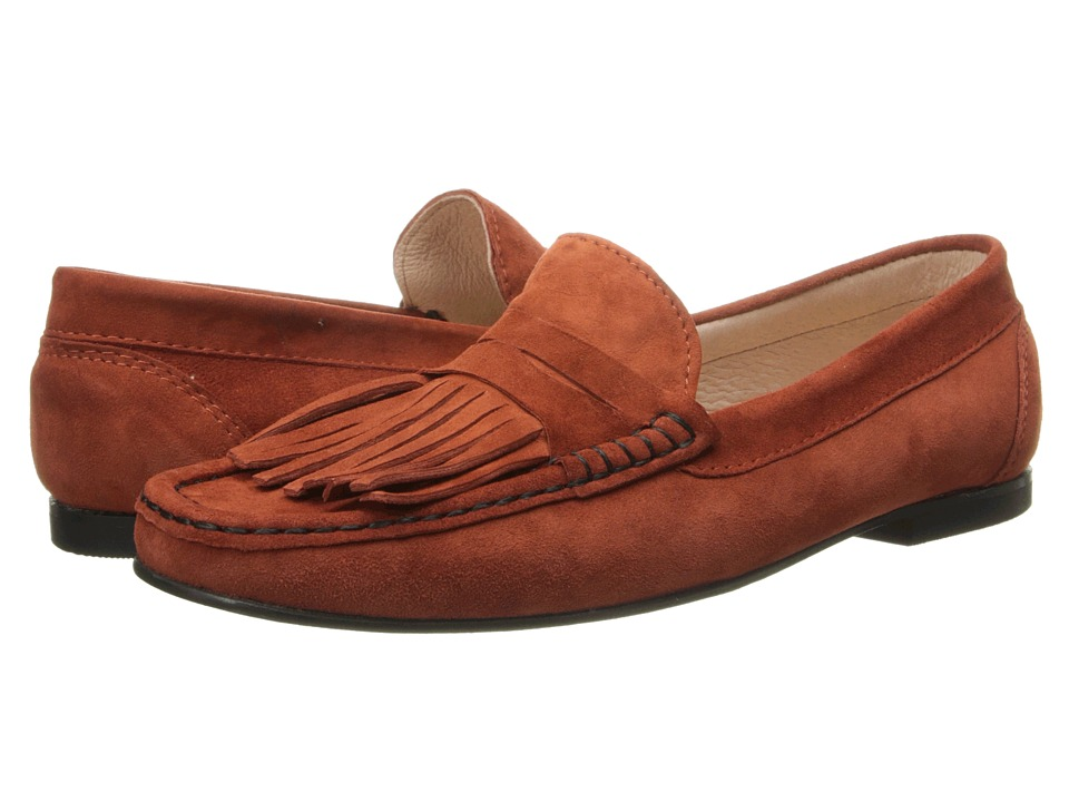 French Sole - Mates (Brick Suede) Women's Shoes