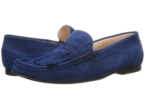 French Sole - Mates (Marine Suede) Women's Shoes