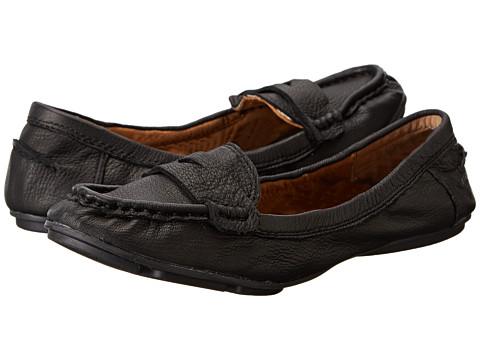 Lucky Brand - Feverton (Black Glove Nappa) Women's Slip on Shoes