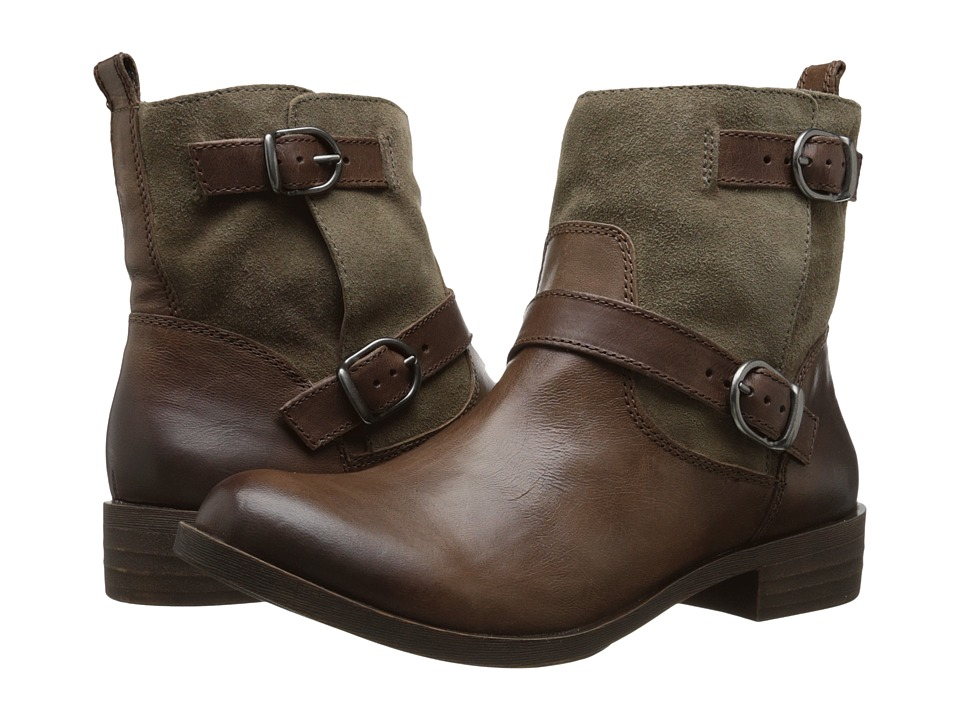 Lucky Brand - Kitte (Stone/Brindle Barillos/Oiled Suede) Women