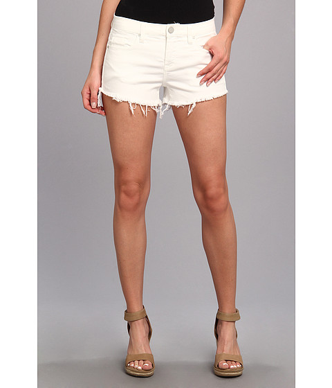 Blank NYC - Solid Gold Cut Off Short in Antique White (Antique White) Women