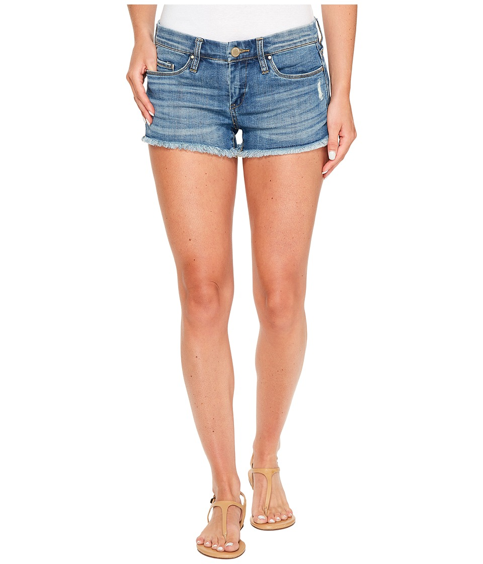 Blank NYC - Little Queenie Distress Short in Denim Blue (Denim Blue) Women's Shorts