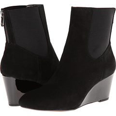 Adrienne Vittadini Karol (Black Kid Suede Stretch) Footwear