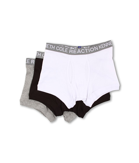 Kenneth Cole Reaction - 3 Pack Trunk (White/Black/Grey) Men's Underwear