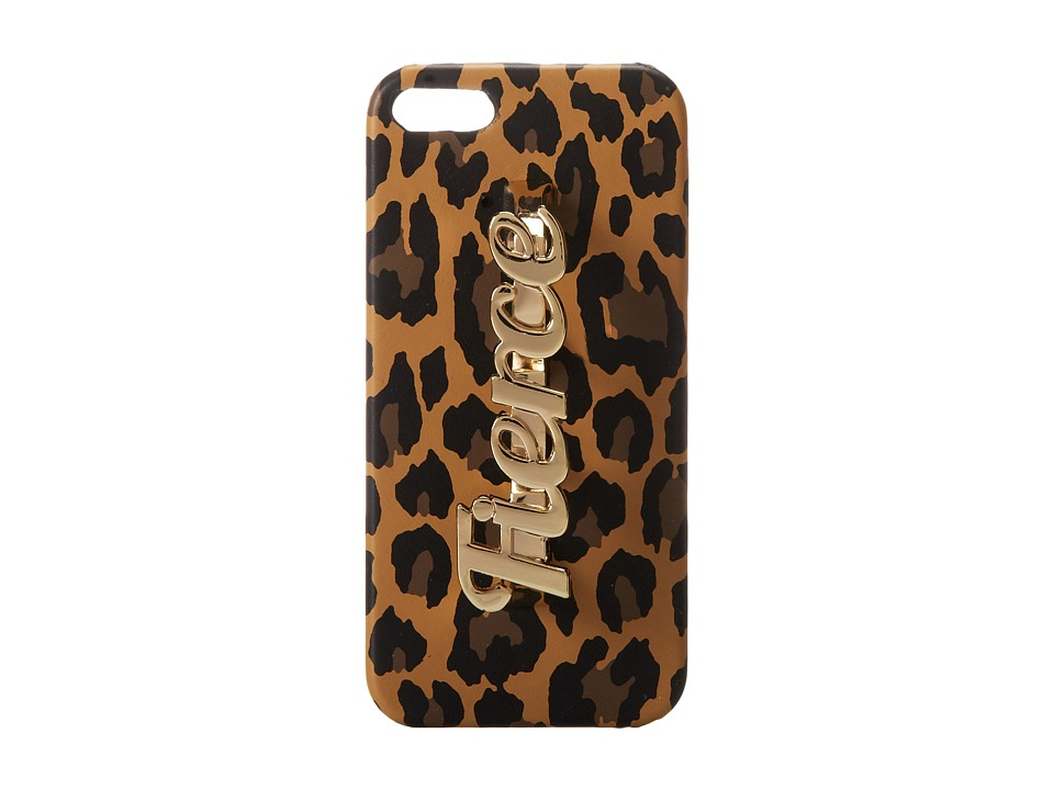 Steve Madden - Bfiercee Cell Phone Case (Leopard) Cell Phone Case