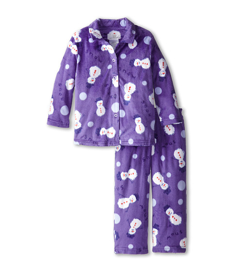 Karen Neuburger - L/S Classic PJ (Toddler/Little Kids) (Snowman Peri) Pajama Sets