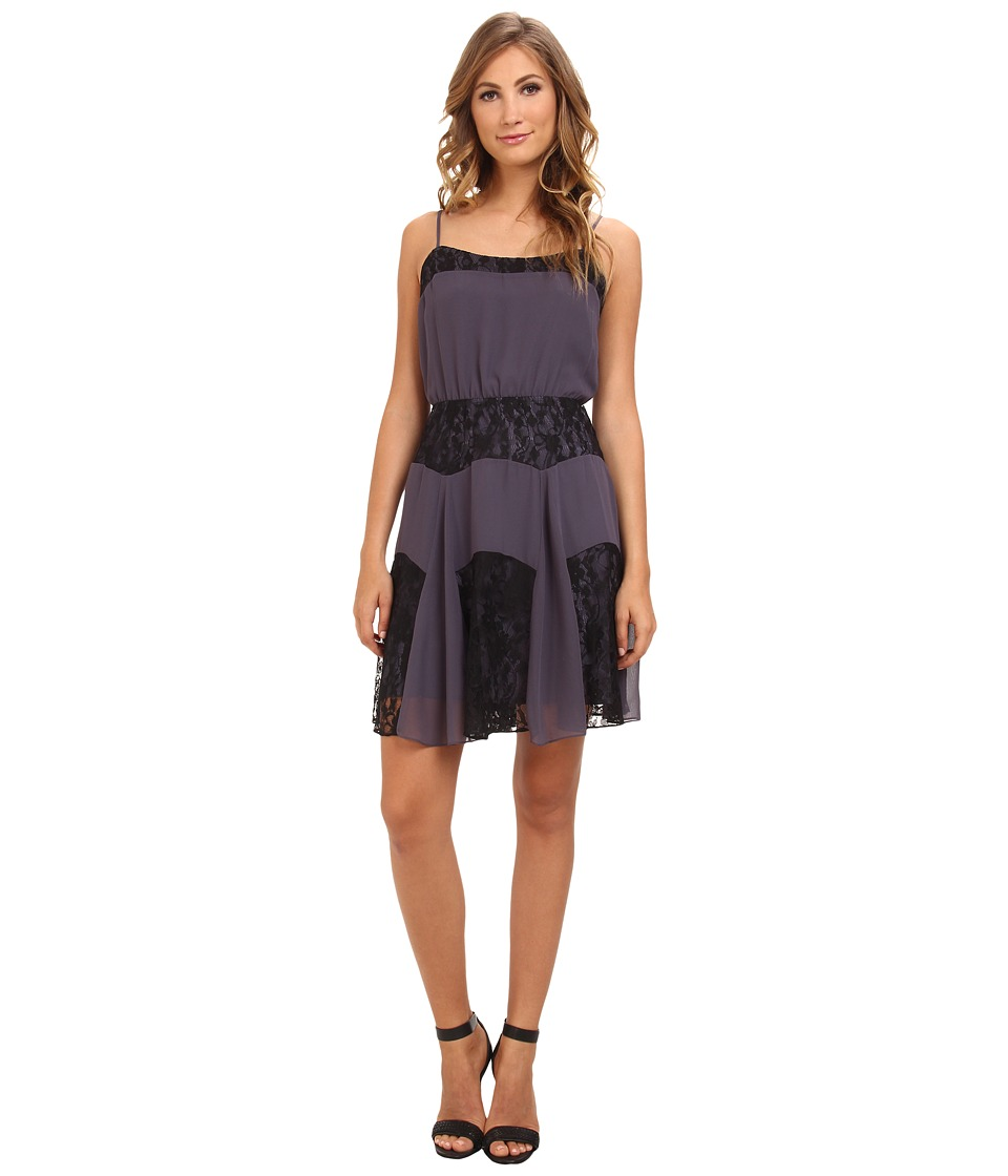 BCBGeneration - Lace Cami Dress VDW67B26 (Vapor) Women