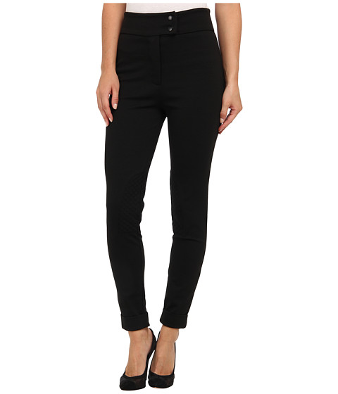 BCBGeneration - High Waisted Riding Pant XGN2F558 (Black) Women's Casual Pants