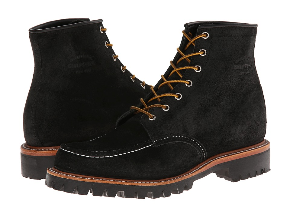 Chippewa - Field Boot (Black Suede) Men's Work Boots