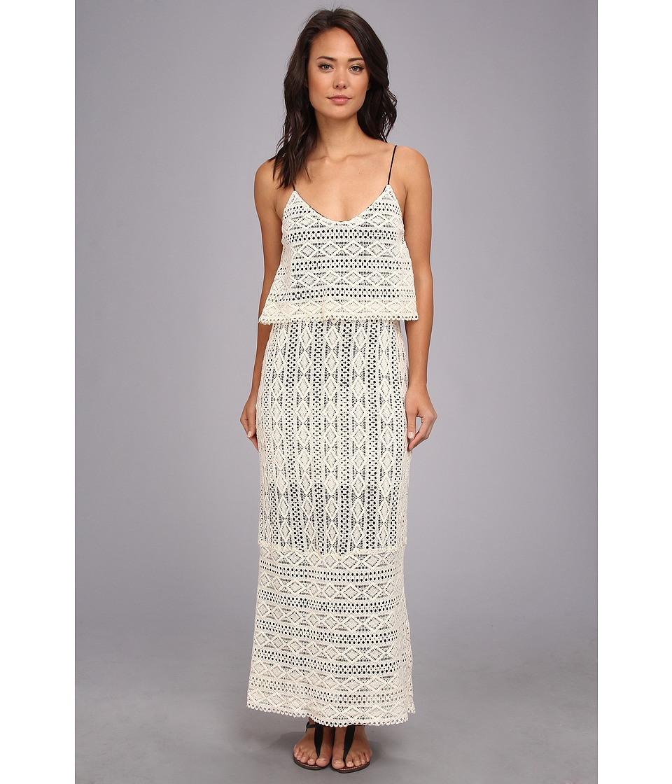 Dolce Vita - Abree Triangle Eyelet Maxi (Sand) Women's Dress