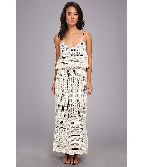 Dolce Vita - Abree Triangle Eyelet Maxi (Sand) Women's Dress