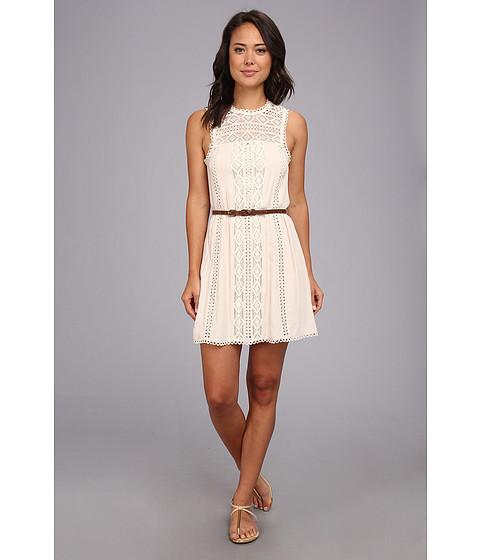 Dolce Vita - Stasia Triangle Eyelet Dress (Sand) Women's Dress