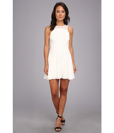 Dolce Vita - Arlesey Soft Mesh Dress (White) Women's Dress