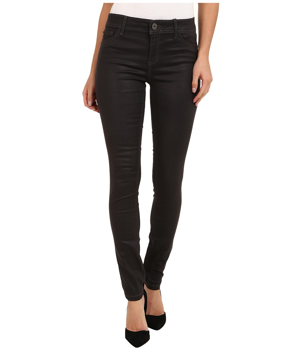 DL1961 - Florence Instasculpt Coated in Lourdes Grey Coated (Lourdes Grey Coated) Women's Jeans