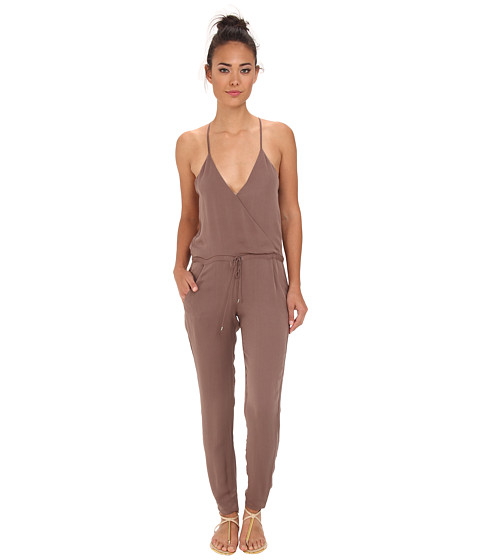 Dolce Vita - Fadwa Jumper (Taupe) Women's Jumpsuit & Rompers One Piece