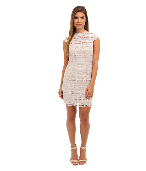 Dolce Vita - Antiope Istanbul Embroidery Dress (Champagne) Women