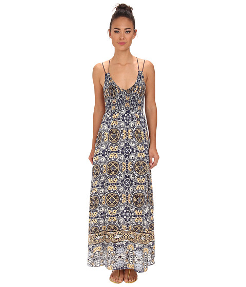 Dolce Vita - Ayat Marrakech Print Maxi (Blue Print) Women