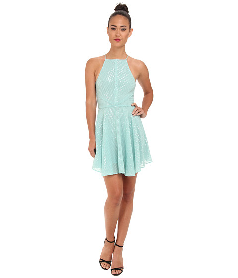 Dolce Vita - Mahdis Sequin Stripe Dress (Mint) Women's Dress