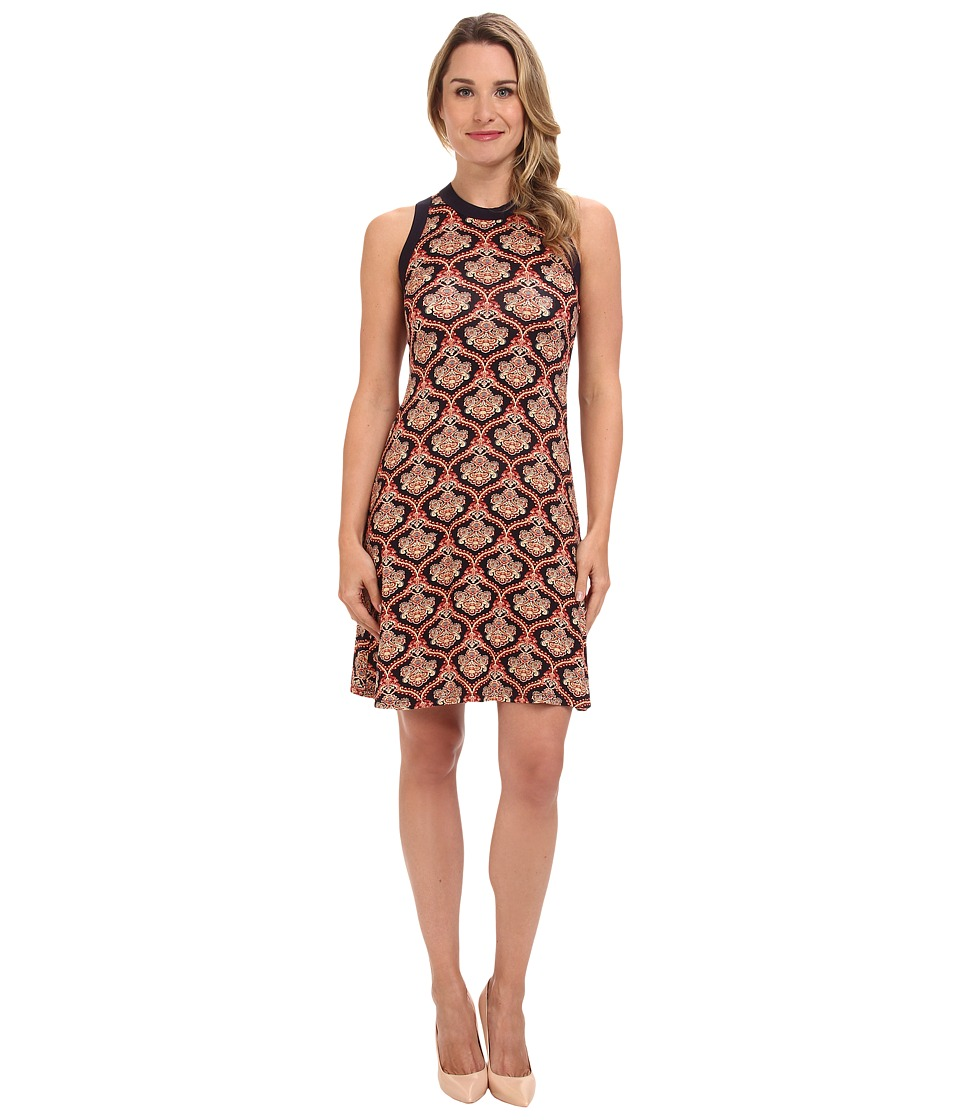 Karen Kane - Sleeveless Dress (Print) Women's Dress