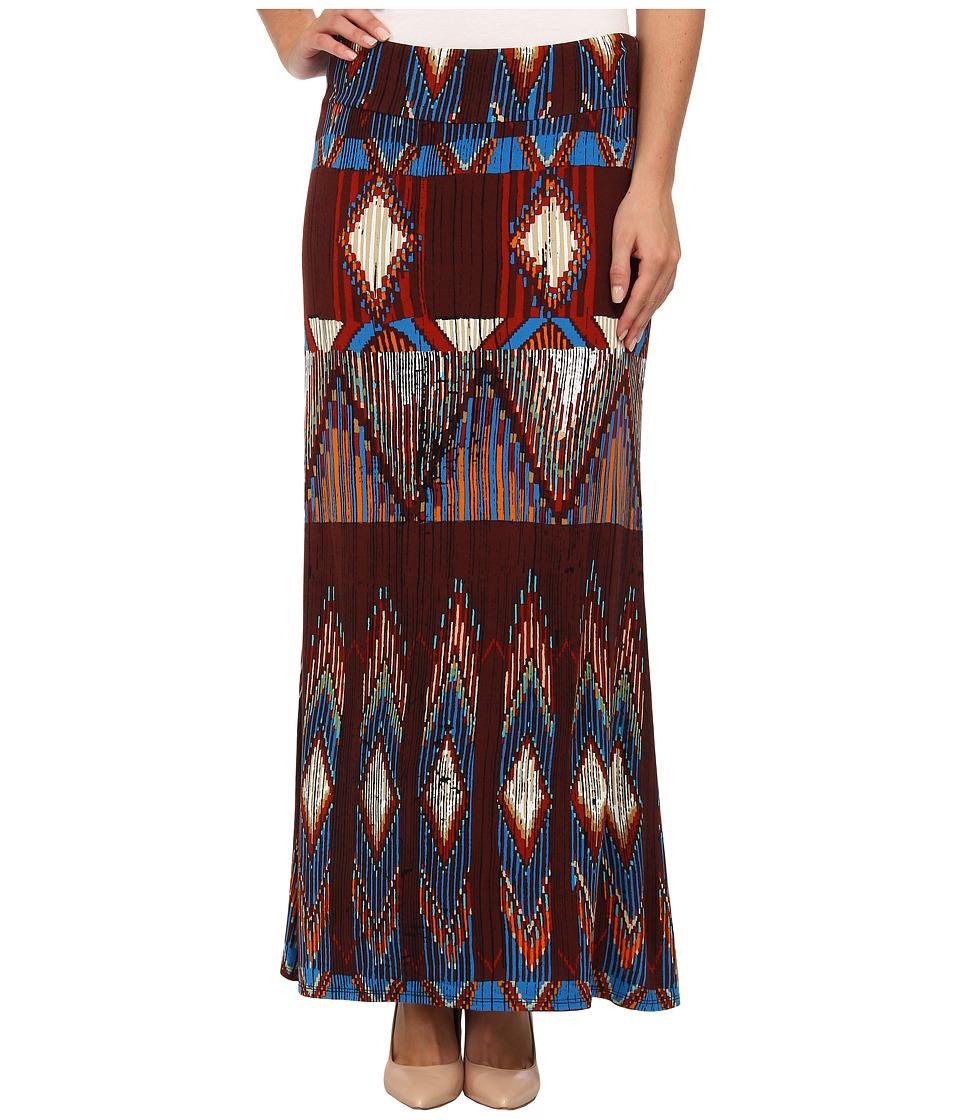Karen Kane - Southwestern Maxi Skirt (Print) Women