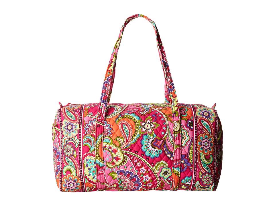 Vera Bradley - Large Duffel (Pink Swirls) Duffel Bags
