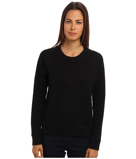 Theory - Five Top (Black) Women's Long Sleeve Pullover