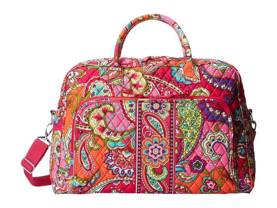 Vera Bradley - Weekender (Pink Swirls) Duffel Bags