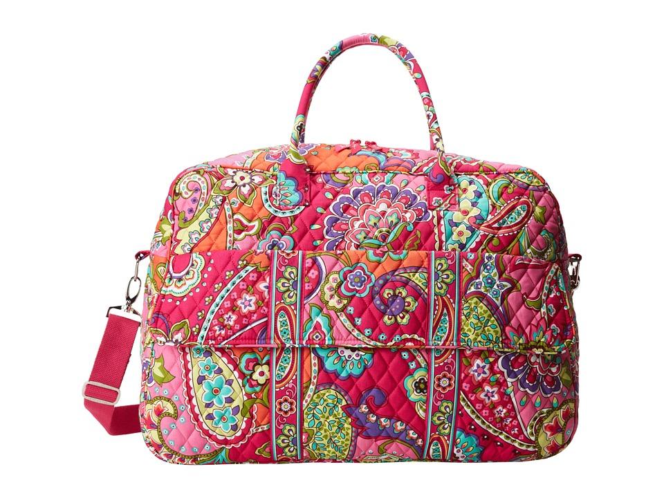 Vera Bradley - Grand Traveler (Pink Swirls) Duffel Bags