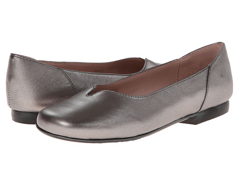 Taryn Rose - Bradley (Pewter) Women's Slip on Shoes