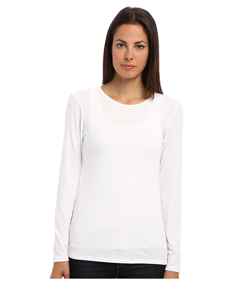 Theory - Basic Top (White) Women's T Shirt