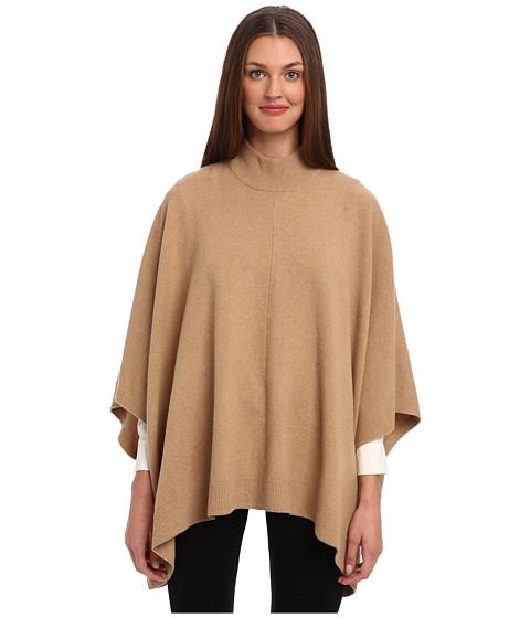 Theory - Florencia Poncho (Pecan) Women's Clothing