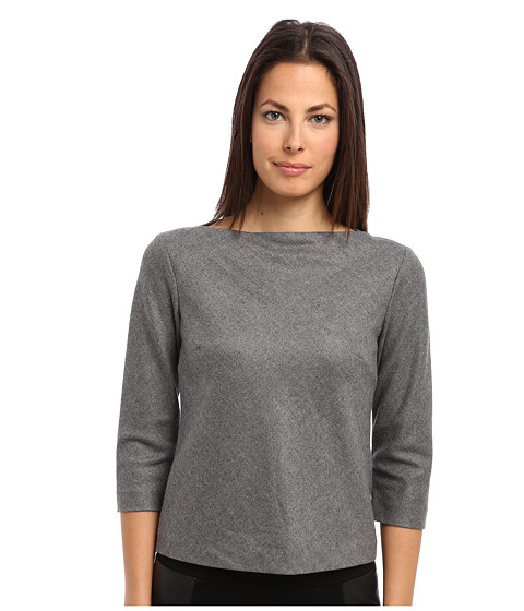 Theory - Kelsea Top (Heather Grey) Women