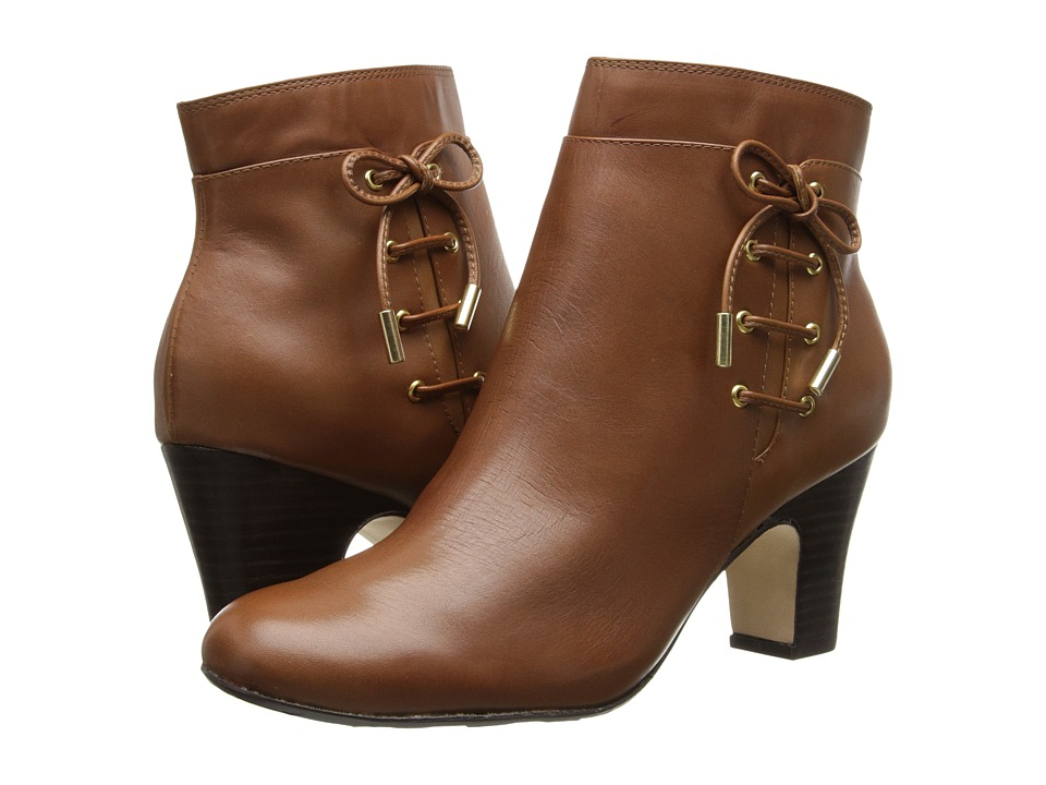 Taryn Rose - Terrie (Tan) Women's Dress Zip Boots