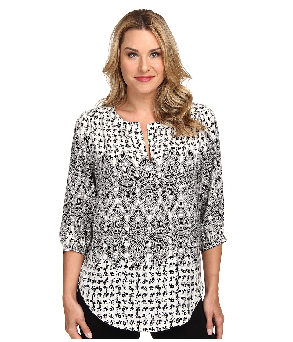 Karen Kane - Blouson Sleeve Top (Print) Women's Blouse