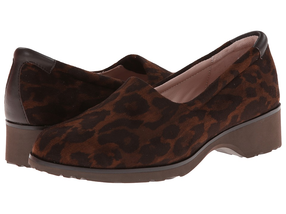 Taryn Rose - Tutu (Brown Multi) Women's Slip on Shoes