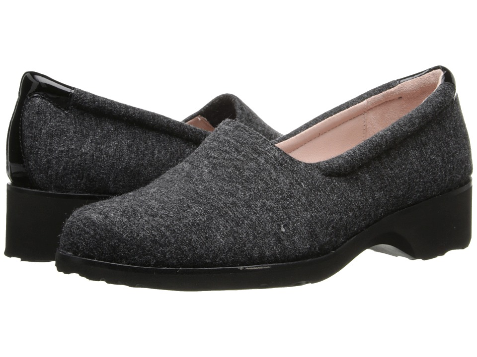 Taryn Rose - Tutu (Charcoal Sparkle) Women's Slip on Shoes