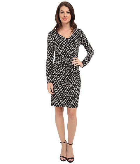 Karen Kane - Chain Print Tiffany Dress (Print) Women's Dress