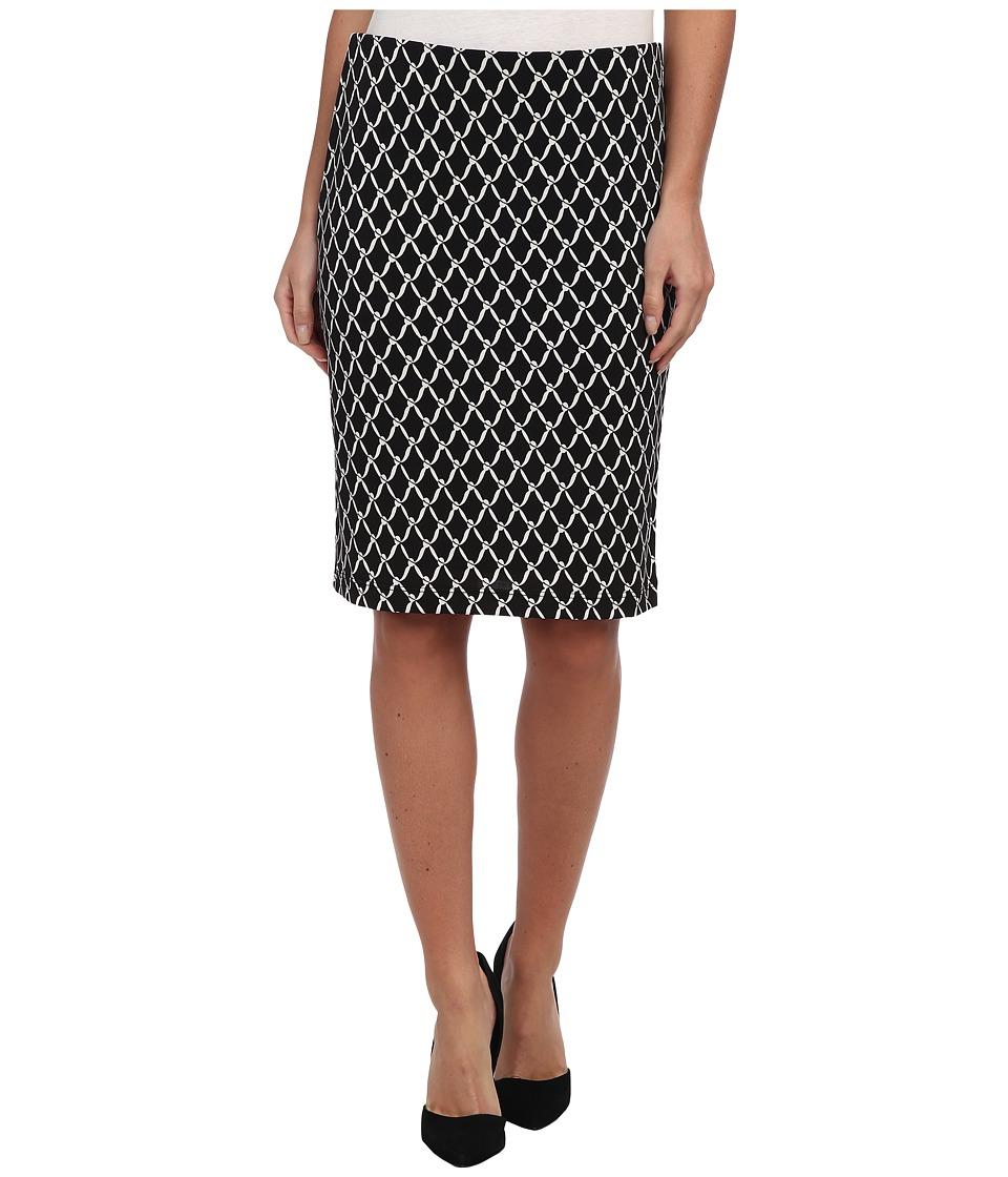 Karen Kane - Chain Print Pencil Skirt (Print) Women's Skirt