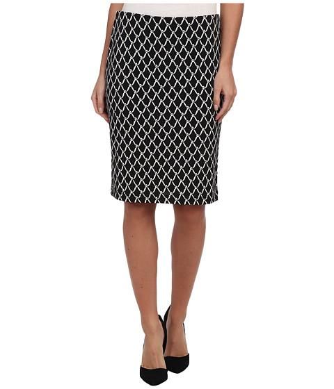 Karen Kane - Chain Print Pencil Skirt (Print) Women
